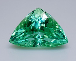 12.25Crt Green Spodumene Natural Gemstones JI08