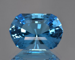 Natural Topaz 32.57 Cts Perfect Precision Cut