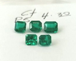 4.30ct Exceptional Emerald Lot
