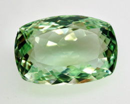 19.19 ct.  Natural Earth Mined Top Quality Rich Green  Prasiolite Brazil –