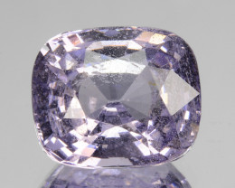 2.66Cts Stunning Natural Lavender Spinel Cushion Cut Sri Lanka 450$