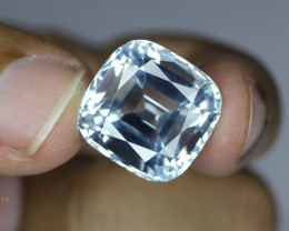 24.87 Carats Cushion Cut Aquamarine