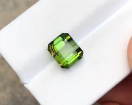 4.20 Ct Natural Green Transparent Tourmaline Gemstone