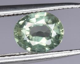 A Beautiful Green Sapphire 0.84 CTS GEM