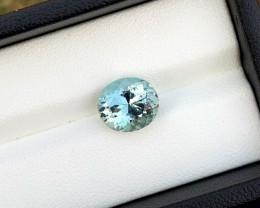 3.75 Carats Natural Aquamarine Gemstones