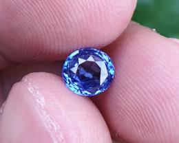 UNHEATED CERTIFIED 1.14 CTS NATURAL BEAUTIFUL CORNFLOWER BLUE SAPPHIRE CEYL