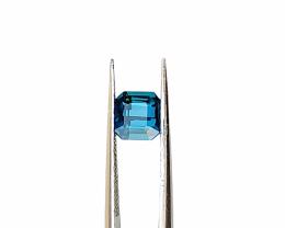 VS Natural Blue Tourmaline Cut Stone