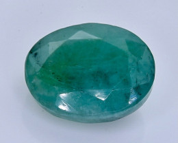 6.24 Crt Natural Emerald  Faceted Gemstone.( AB 5)