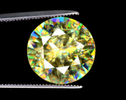 6.15 cts Great Dispersion Sphene Gemstone