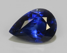 0.74 CTS AWESOME BLUE SAPPHIRE HEATED FACETED GENUINE