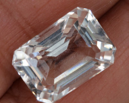 9.85 CTS  FACETED CLEAR CRYSTAL QUARTZ  PG-1470
