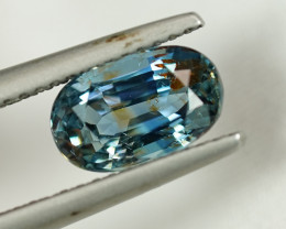 2.36CT CERTIFIED UNHEATED BLUE SAPPHIRE $1NR!