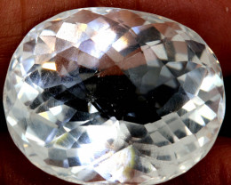 40.85 CTS   FACETED CLEAR CRYSTAL QUARTZ  PG-1490