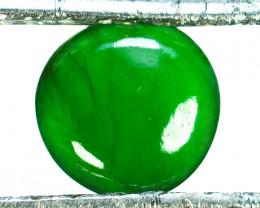 ~UNTREATED~ 0.63 Cts Natural Green Jade Cabochon Burmese
