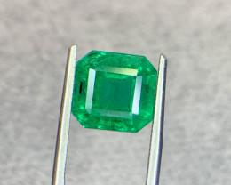 4.40 carat Natural Emerald Gemstone.