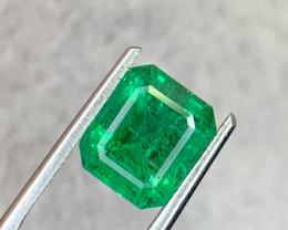 2.65 carat Natural Emerald Gemstone.