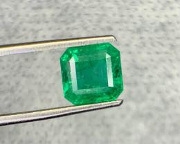 1.80 carat Natural Emerald Gemstone.