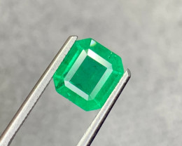 2.45 carat Natural Emerald Gemstone.