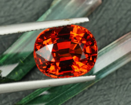 HUGE 10.96CT MANDARIN ORANGE SPESSARTITE GARNET