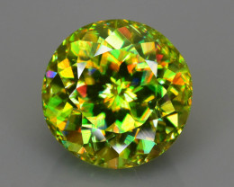 Rare AAA Fire 3.61 ct Sphene Sku-78