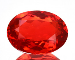 2.02Cts NATURAL TOP GRADE RED FIRE OPAL  MEXICO