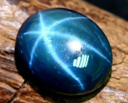 Blue Star Sapphire 8.30Ct Natural 6 Rays Blue Star Sapphire C2215