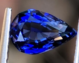 1.06 ct Royal blue Sapphire With Excellent luster and Fine Cutting Gemstone