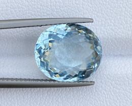 6.97 Cts Natural Aquamarine Quality Gemstone.