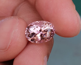 UNHEATED 4.72 CTS NATURAL STUNNING VS BABY PINK TOURMALINE MOZAMBIQUE