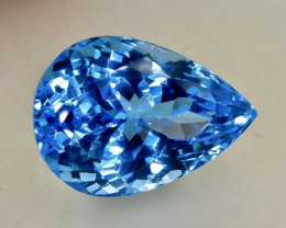 23.65 Crt  Topaz Faceted Gemstone (Rk-80)