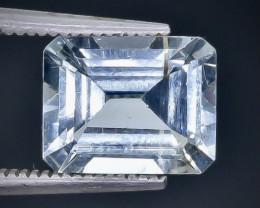 3.22 Crt  Aquamarine Faceted Gemstone (Rk-80)