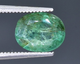 2.06 Crt  Emerald Faceted Gemstone (Rk-80)