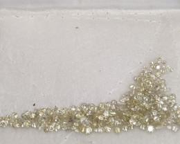 Natural loose white diamond  5carat lot app 3-5pts size