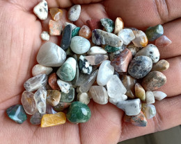 200 Ct mix lot of Natural Tumbled Gemstones VA5167
