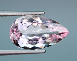 AAA 4.29 Carat Pink Morganite Unusual Cut Gemstone