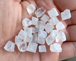 125 Ct Crystal Quartz Natural Rough Gemstone Parcel VA5185