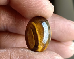 Natural Tiger Eye Gemstone Genuine Gem VA5197