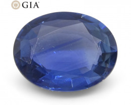 2.36ct Oval Blue Sapphire GIA Certified Thailand