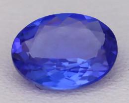 Tanzanite 1.16Ct VVS Oval Cut Natural Vivid Purplish Blue Tanzanite C2314