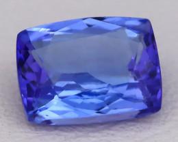 Tanzanite 1.55Ct VVS Octagon Cut Natural Vivid Blue Tanzanite C2321