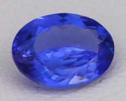 Tanzanite 1.19Ct VVS Oval Cut Natural Vivid Purplish Blue Tanzanite C2323
