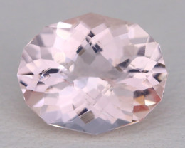 2.85Ct Morganite VVS Sweet Pink Beryl Color Natural Madagascar AT002
