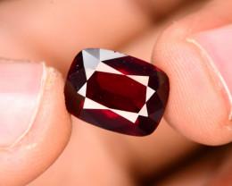 Cushion Cut 5.30 Natural Blood Red Almandite Garnet ! GAA !