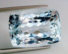 Unheated - 33.28 ct Natural Earth Mined Blue Aquamarine – IGE Certificate