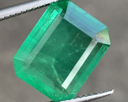 8.10 Natural Zambian Emerald Top Shade Opaque Good Quality