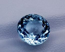 3.12CT BLUE AQUAMARINE BEST QUALITY GEMSTONE IIGC15