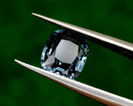 2.10CT BLUE SPINEL RARE COLOR BEST QUALITY GEMSTONE IIGC15