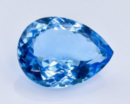 20.20 Crt Natural  Topaz Faceted Gemstone.( AB 6)