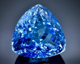 31.48 Crt Natural Topaz Faceted Gemstone.( AB 6)