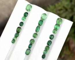 8.25 Carats Tsavorite  garnet  Natural Intense Vivid Green color